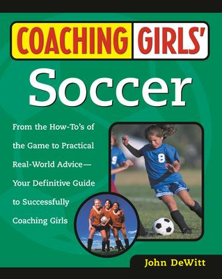 Coaching Girls' Soccer Cover