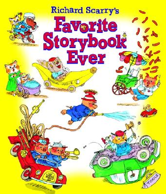 Richard Scarry's Favorite Storybook Ever Cover