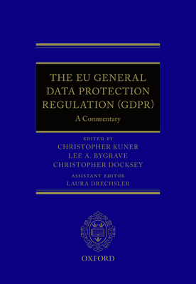 The Eu General Data Protection Regulation (Gdpr): A Commentary Cover Image