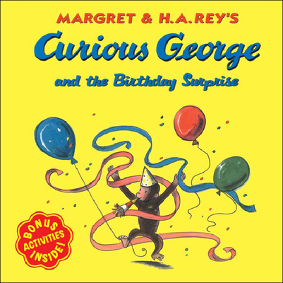 Curious George and the Birthday Surprise (Curious George 8x8) Cover Image