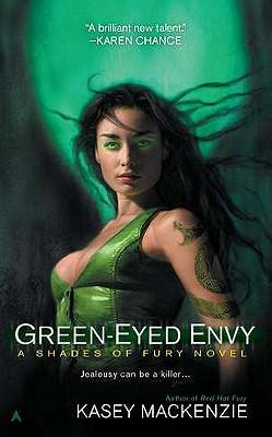 Green-Eyed Envy (A Shades of Fury Novel #2) Cover Image
