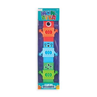Monster Erasers - Set of 3 Cover Image