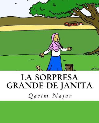 La Sorpresa Grande de Janita: Un cuentito para pintar Cover Image