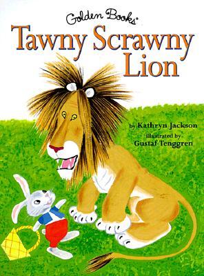Tawny Scrawny Lion Cover