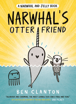 Narwhal's Otter Friend (A Narwhal and Jelly Book #4) Cover Image