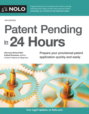 Patent Pending in 24 Hours Cover Image