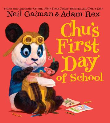Chu's First Day of School Board Book Cover Image