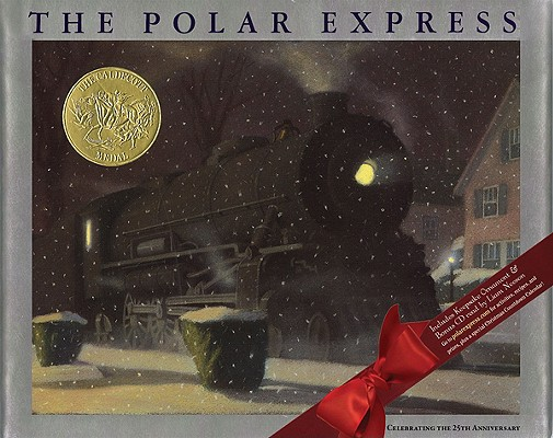 The Polar Express [With Cardboard Ornament] Cover