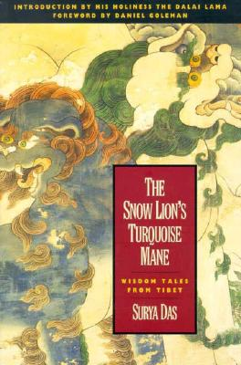 The Snow Lion's Turquoise Mane Cover