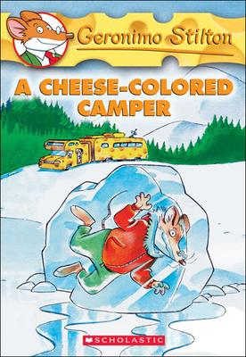 A Cheese-Colored Camper (Geronimo Stilton #16) Cover Image