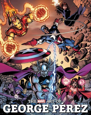 The Marvel Art of George Perez Cover Image