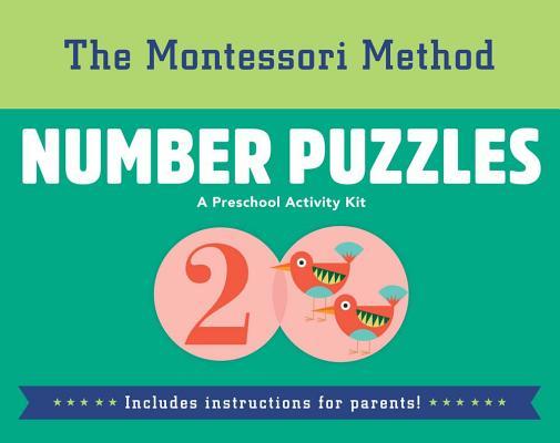 Cover for Number Puzzles (Montessori Method #5)