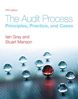 The Audit Process: Principles, Practice and Cases Cover Image