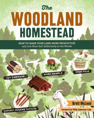The Woodland Homestead: How to Make Your Land More Productive and Live More Self-Sufficiently in the Woods Cover Image
