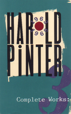 Cover for Complete Works, Volume III (Pinter)
