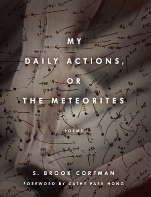 My Daily Actions, or the Meteorites (Poets Out Loud) Cover Image