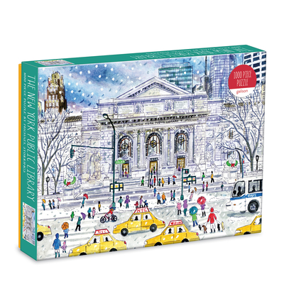 Michael Storrings New York Public Library 1000 Pc Puzzle Cover Image