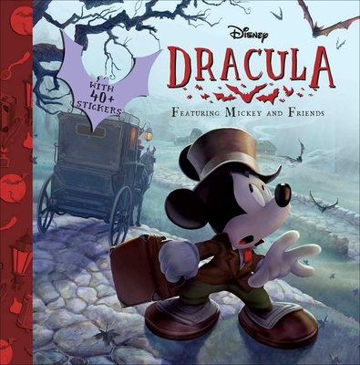 Disney Mickey Mouse: Dracula (Disney Classic 8 x 8) Cover Image