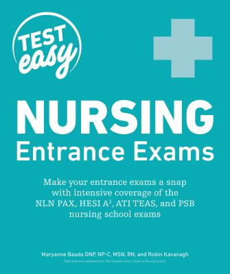 Nursing Entrance Exams (Test Easy) Cover Image