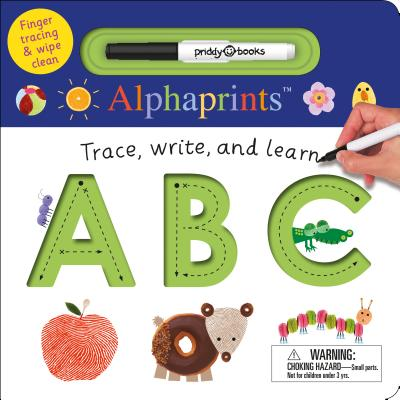 Alphaprints: Trace, Write, and Learn ABC Cover Image