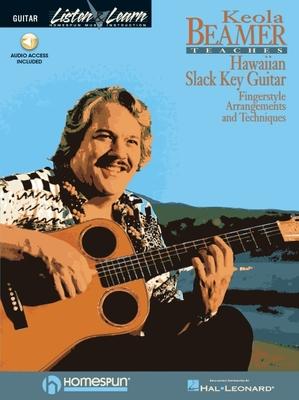 Keola Beamer Teaches Hawaiian Slack Key Guitar [With *] Cover Image