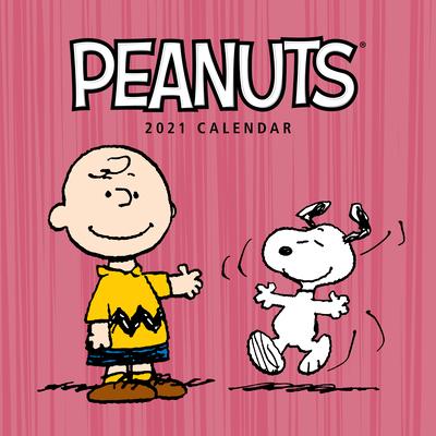 Peanuts 2021 Wall Calendar Cover Image