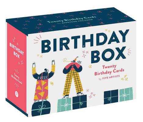 Birthday Box: Birthday Cards for Everyone You Know Cover Image