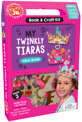My Twinkly Tiaras (Klutz Jr.) Cover Image