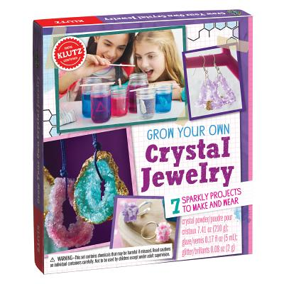 Grow Your Own Crystal Jewelry: 7 Sparkly Projects to Make and Wear Cover Image
