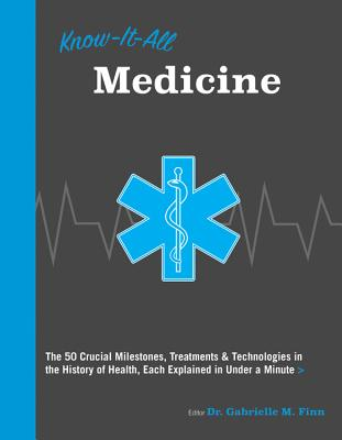 Know It All Medicine: The 50 Crucial Milestones, Treatments & Technologies in the History of Health, Each Explained in Under a Minute Cover Image