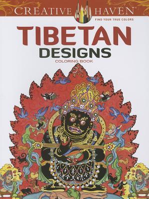 Tibetan Designs Coloring Book (Creative Haven Coloring Books) Cover Image