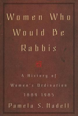 Women Who Would Be Rabbis Cover