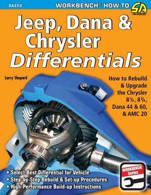 Jeep, Dana & Chrysler Differentials: How to Rebuild the 8-1/4, 8-3/4, Dana 44 & 60 & AMC 20 (Workbench How to) Cover Image