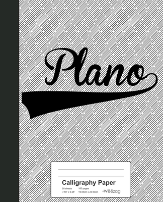 Calligraphy Paper: PLANO Notebook Cover Image