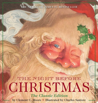 The Night Before Christmas Oversized Padded Board Book: The Classic Edition Cover Image