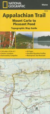 Appalachian Trail, Mount Carlo to Pleasant Pond [Maine] Cover Image