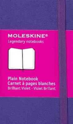 Moleskine Classic Notebook, Extra Small, Plain, Brilliant Violet, Hard Cover (2.5 x 4) Cover Image