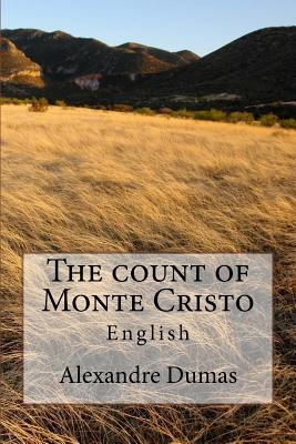 The Count of Monte Cristo: English Cover Image