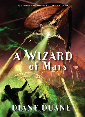 A Wizard of Mars: The Ninth Book in the Young Wizards Series cover