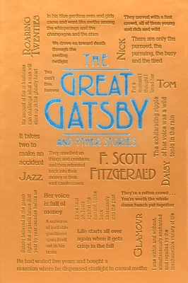 The Great Gatsby and Other Stories (Word Cloud Classics) cover