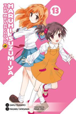The Melancholy of Haruhi Suzumiya, Volume 13 Cover