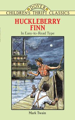 Huckleberry Finn (Dover Children's Thrift Classics) Cover Image