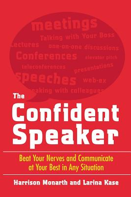 The Confident Speaker Cover