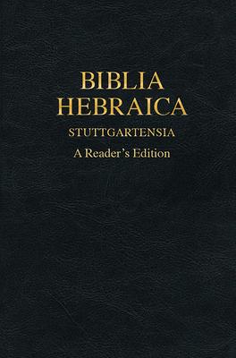 Biblia Hebraica Stuttgartensia: A Reader's Edition Cover Image