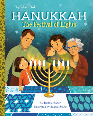 Hanukkah: The Festival of Lights (Big Golden Book) Cover Image