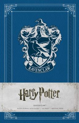 Harry Potter: Ravenclaw Hardcover Ruled Journal Cover Image