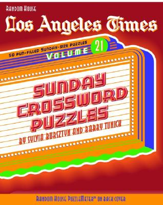 Los Angeles Times Sunday Crossword Puzzles, Volume 21 Cover
