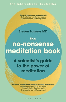 The No-Nonsense Meditation Book: A scientist's guide to the power of meditation Cover Image