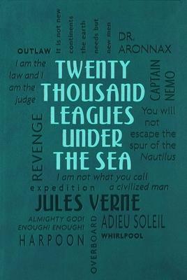 Twenty Thousand Leagues Under the Sea (Word Cloud Classics) Cover Image