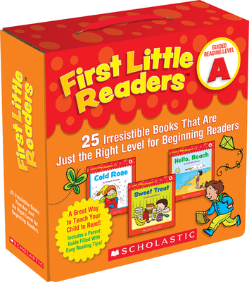 First Little Readers: Guided Reading Level A (Parent Pack): 25 Irresistible Books That Are Just the Right Level for Beginning Readers Cover Image